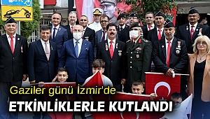 Gaziler günü İzmir'de etkinliklerle kutlandı