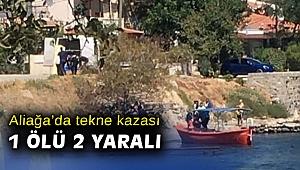 İzmir Aliağa'da tekne kazası: 1 ölü, 2 yaralı