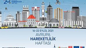 İzmir'de Avrupa Hareketlilik Haftası başladı