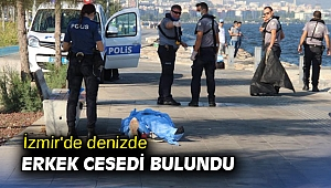 İzmir'de denizde feci ölüm!