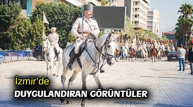 İzmir'de duygulandıran görüntüler