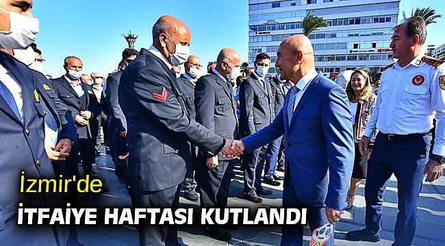 İzmir'de İtfaiye Haftası kutlandı