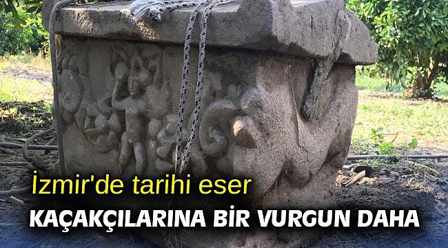 İzmir'de tarihi eser kaçakçılarına bir vurgun daha