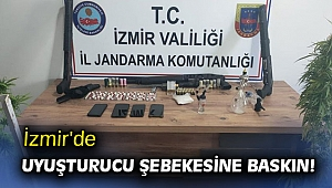 İzmir'de uyuşturucu şebekesine baskın!