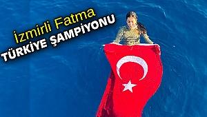 İzmirli Fatma, Türkiye şampiyonu