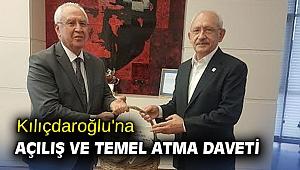 Kılıçdaroğlu'na açılış ve temel atma daveti