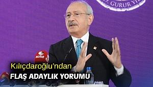 Kılıçdaroğlu'ndan flaş adaylık yorumu