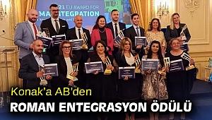 Konak'a AB'den Roman Entegrasyon Ödülü