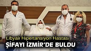Libyalı Hipertansiyon Hastası Şifayı İzmir'de Buldu