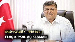 Milletvekili Sındır'dan flaş kırsal açıklaması