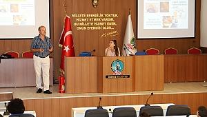 Ödemiş Belediyesi'nde stajyer öğrencilere iş sağlığı ve güvenliği eğitimi