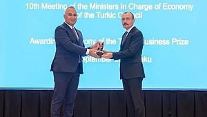 SOCAR Türkiye'ye Ekonomi Bakanları Zirvesi'nde ödül