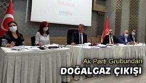 AK Parti'den üç mahalle için doğalgaz hamlesi