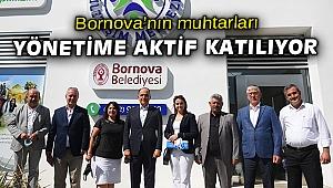 """Başkan İduğ: """"Bornova'mız için mola vermeden çalışmaya devam edeceğiz"""""""