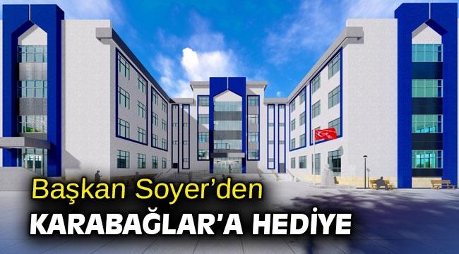 Başkan Soyer'den Karabağlar'a hediye
