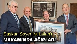 Başkan Soyer Irit Lillian'ı makamında ağırladı