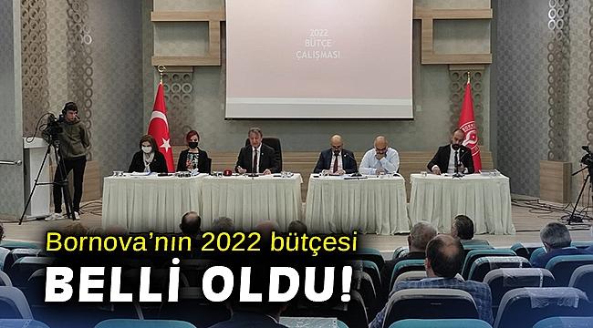 Bornova'nın 2022 yılı bütçesi belli oldu!