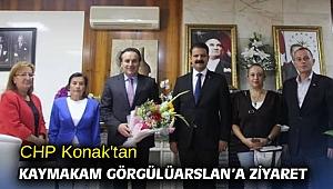 CHP Konak'tan Kaymakam Görgülüarslan'a ziyaret