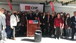 """CHP'li Gruşçu'dan hükümete eleştiriler: """"Zulmün son bulmasına çok az kaldı"""""""