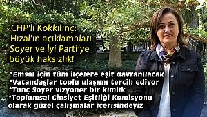 CHP'li Kökkılınç: Hızal'ın açıklamaları Soyer ve İyi Parti'ye büyük haksızlık!