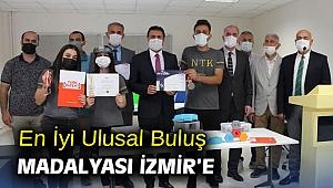 En İyi Ulusal Buluş Madalyası İzmir'e
