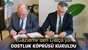 Gaziemir'den Datça'ya dostluk köprüsü kuruldu