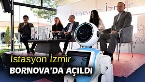 İstasyon İzmir Bornova'da açıldı