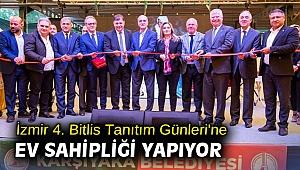 İzmir 4. Bitlis Tanıtım Günleri'ne ev sahipliği yapıyor