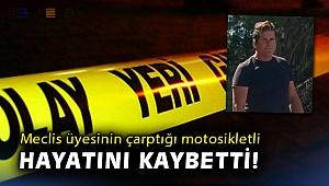 İzmir'de AK Parti'li meclis üyesinin kullandığı otomobil ile motosiklet çarpıştı: 1 ölü