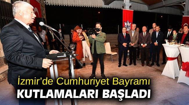 İzmir'de Cumhuriyet Bayramı kutlamaları başladı
