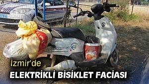 İzmir'de elektrikli bisiklet faciası