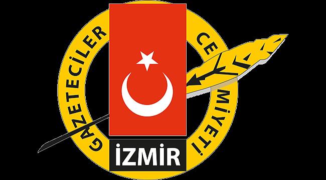 """İzmir Gazeteciler Cemiyeti'nden """"Basının sesini kısmayın"""" açıklaması"""