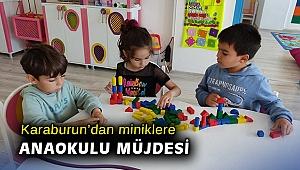 Karaburun'da Belediyesi'nden 3-6 yaş arası miniklere anaokulu müjdesi