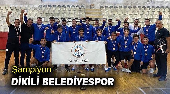 Şampiyon Dikili Belediyespor