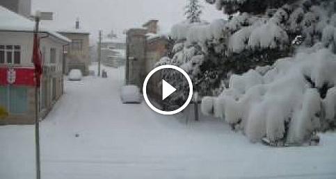 1 Günlük Kar Yağışını 1 Dakikada İzlemek