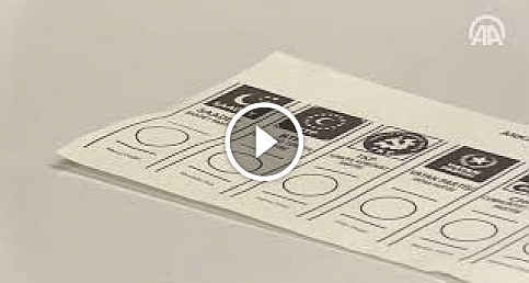31 Mart yerel seçimlerinde kullanılacak oy pusulaları belli oldu
