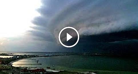 Ülkede gerçekleşmiş fırtına görüntüleri