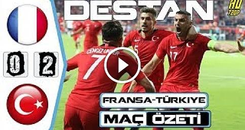 MİLLİ TAKIM DESTAN YAZDI!!! Fransa - Türkiye Maç Özeti - 08/06/2019