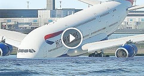 Acil iniş yapmak zorunda kalan 10 uçak