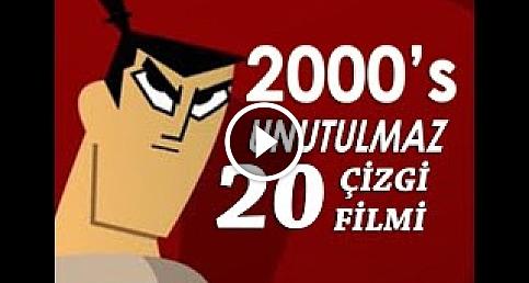 2000'lerin Unutulmaz 20 Çizgi Filmi